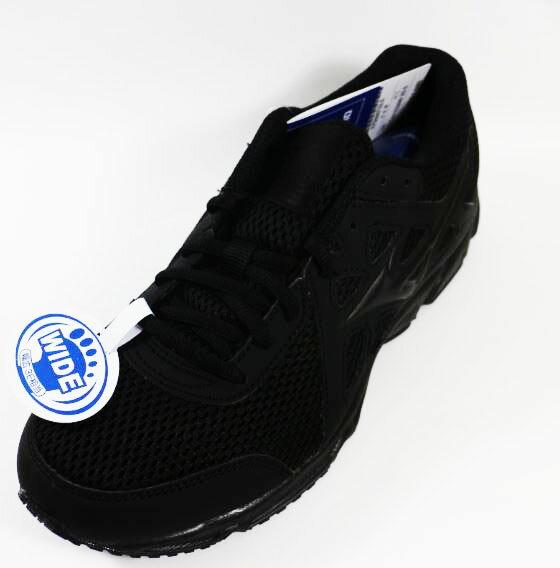 [陽光樂活] 美津濃MIZUNO 一般型鞋款 MAXIMIZER 19 男慢跑鞋 S K1GA170209(黑X黑)