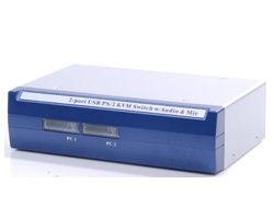 ★ 貨附發票★  良基電腦  HANWELL 捍衛科技 CM-102UA 2-Port 桌