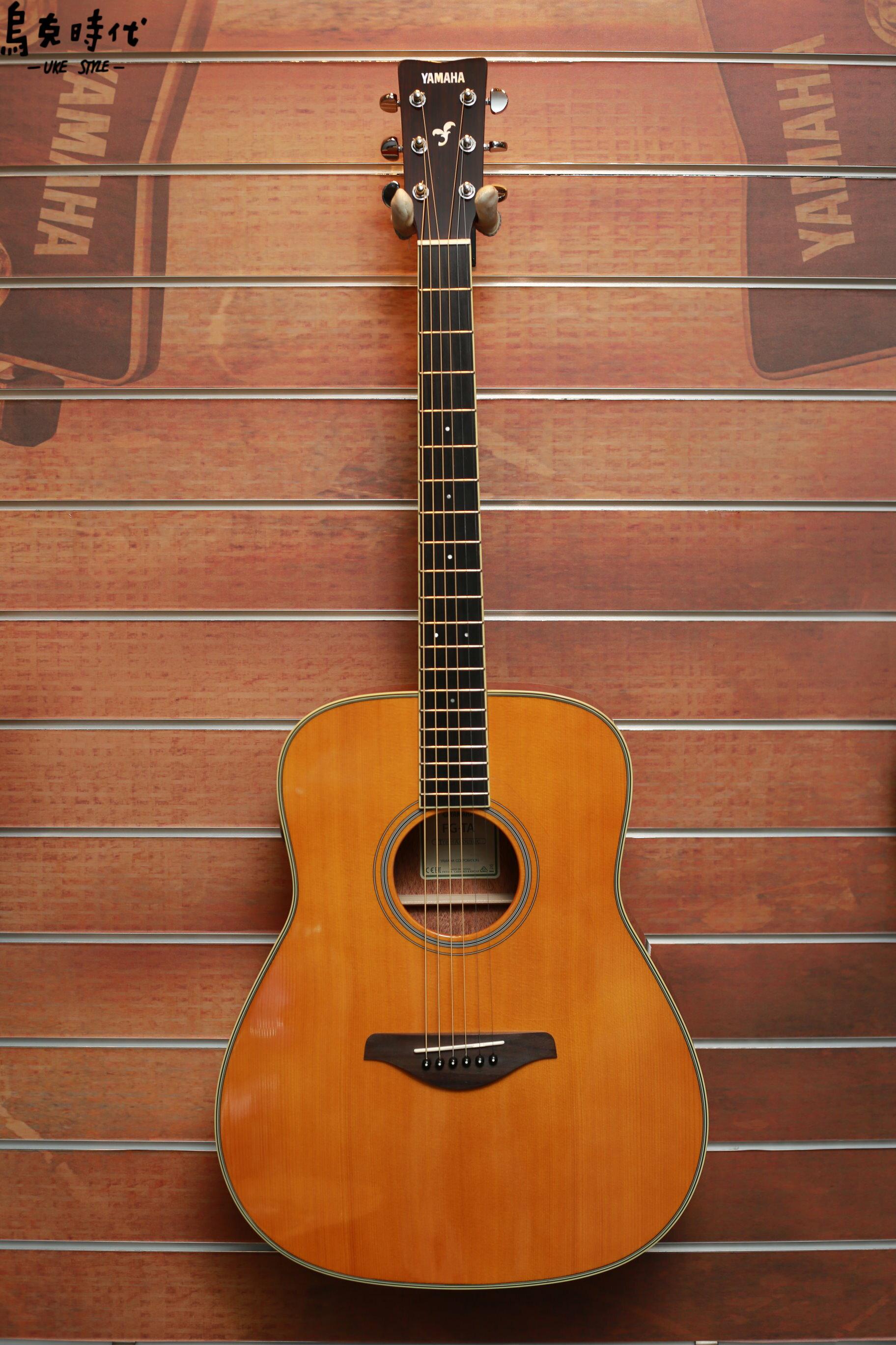 烏克時代~Yamaha FG-TA 面單板雲杉木側背桃花心木 電木吉他