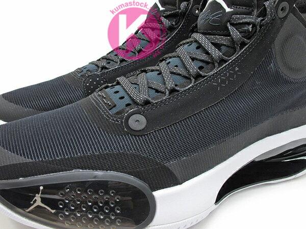 2019-2020 史上最輕 NIKE AIR JORDAN XXXIV 34 PF BLACK WHITE 黑白 新一代 ECLIPSE PLATE 避震科技傳導 前、後 ZOOM 籃球鞋 AJ 4 (BQ3381-001) 1119 2