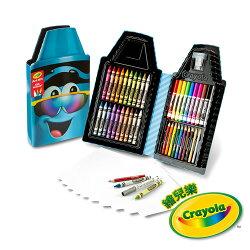 《 美國 Crayola 繪兒樂 》蠟筆娃娃禮盒組 - 墨鏡藍