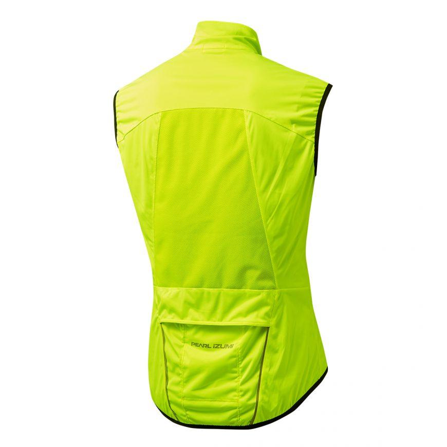 【7號公園自行車】PEARL IZUMI 2310-8 超輕量潑水防風背心(螢光黃)