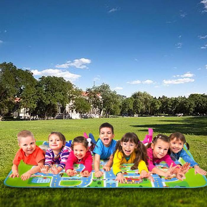 1.6x1.3m Baby Kids Children Play-Mat Picnic Cushion Crawling Mat 1