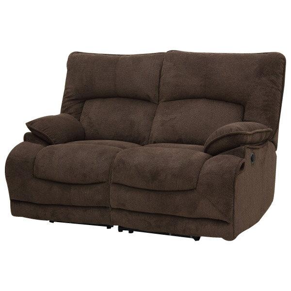 ◎布質2人用電動可躺式沙發 HIT 804 DBR NITORI宜得利家居 5