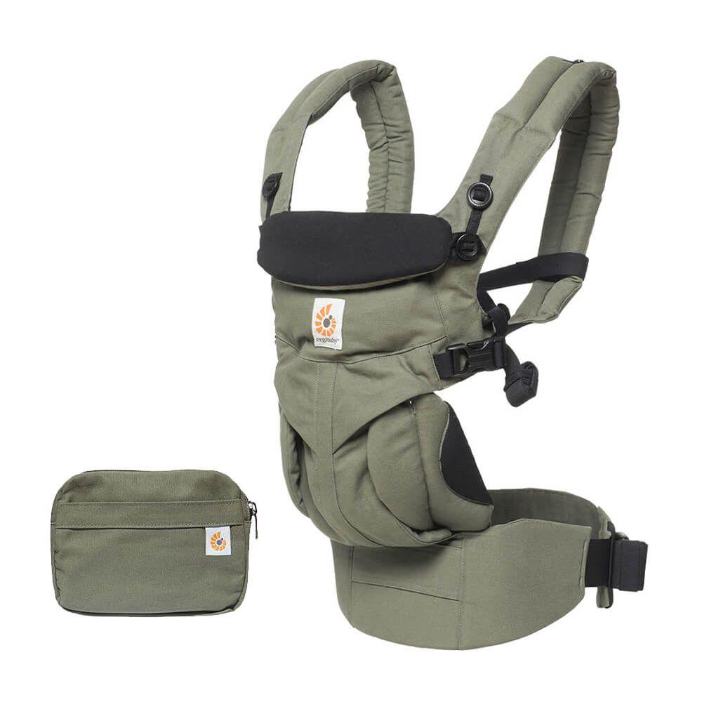 Ergobaby Omni全階段型四式360透氣款嬰兒揹巾/揹帶-卡其綠