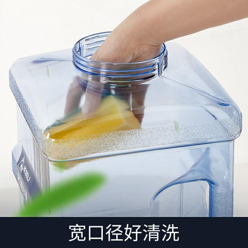功夫茶水桶戶外水桶車載自駕游儲水箱純凈礦泉水家用儲水用塑料桶 第一印象