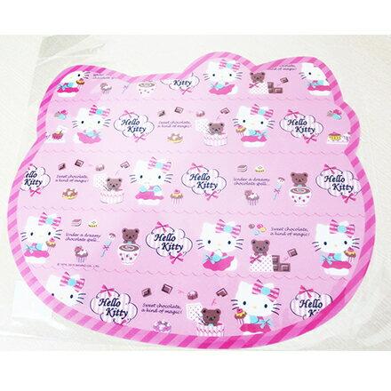 【敵富朗超巿】Hello Kitty造型餐墊 3