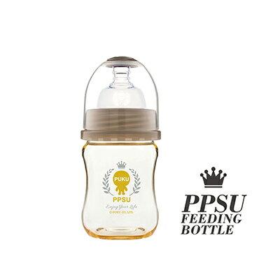 【悅兒園婦幼生活館】PUKU 藍色企鵝 PPSU母乳實感寬口奶瓶-140ml