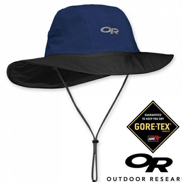【【蘋果戶外】】Outdoor Research OR243505 289 GTX 大盤帽 深藍/黑 Abyss/Black 289 Gore-tex 圓盤帽 100%防水透氣 保暖防風 OR8213..