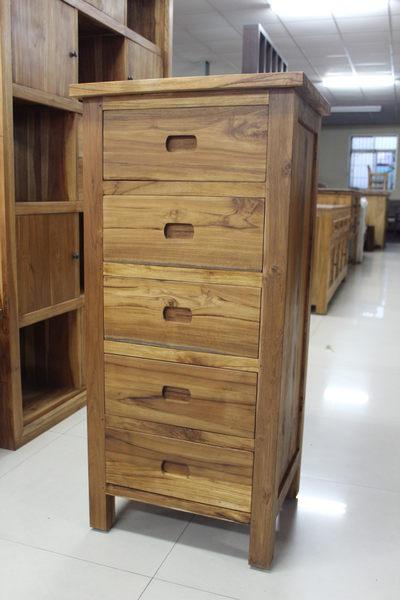 【石川家居】UG-34 柚木五抽櫃 /收納櫃 /邊櫃