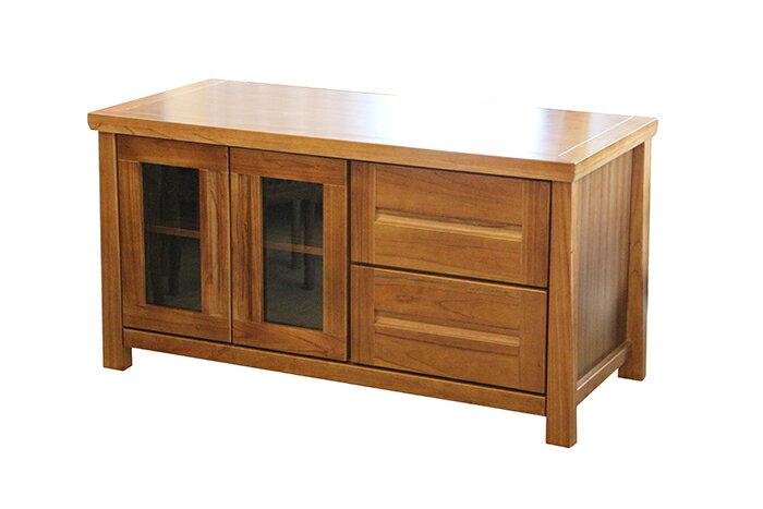 【尚品傢俱】790-13 布拉格4尺柚木電視櫃/客廳櫃/置物長櫃/家庭收納櫃/藏物櫃/TV櫃
