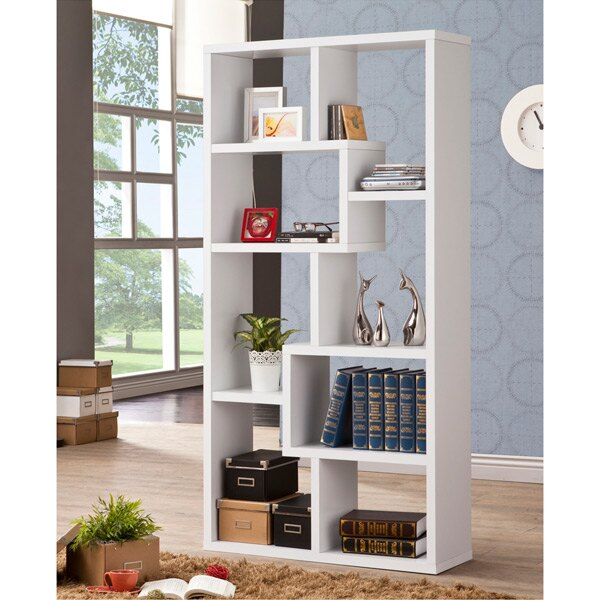 厚板造型隔間櫃 ( 白色 ) 書櫃 / 置物櫃 / 收納櫃 & DIY組合傢俱