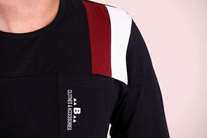 【CS衣舖 】 彈力伸縮 高質感 長袖T恤 3311 2