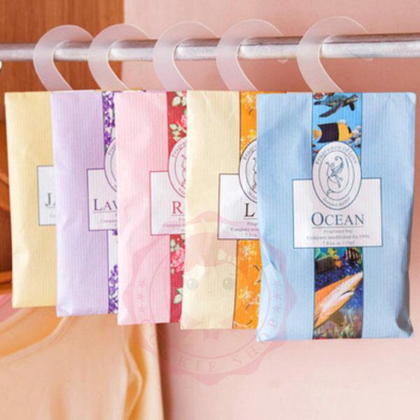 韓式衣物氛芳可掛式香料包【庫奇小舖】
