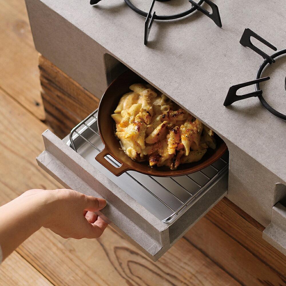 Meister Hand TOOLS 圓形烤盤 烤盤 餐盤 20.5x24.5cm 米白色 1