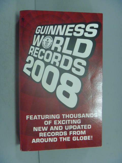~書寶 書T1/原文書_ILN~Guinness World Records 2008