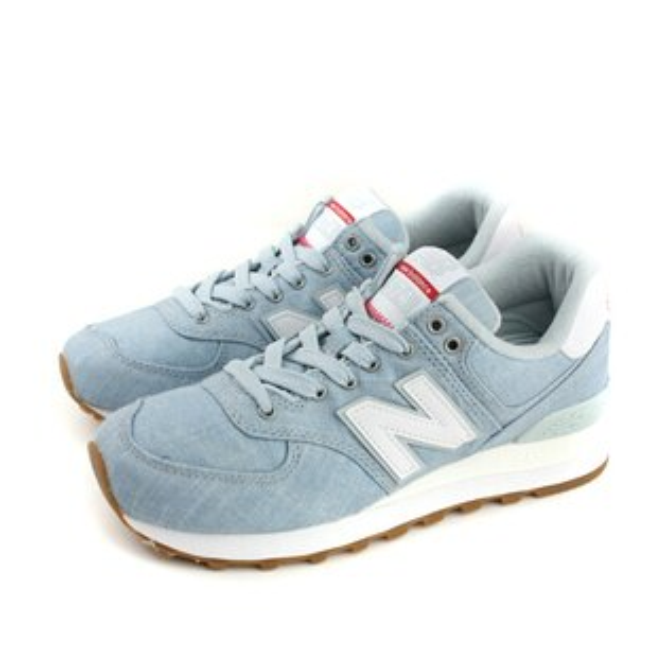 NEWBALANCE復古鞋運動鞋藍色女鞋ML574YLF-Dno413