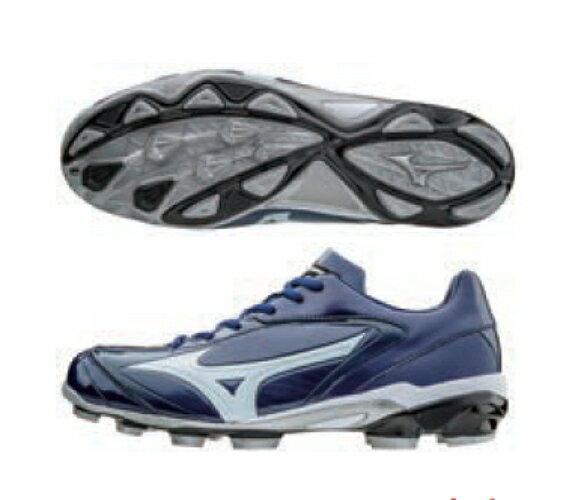 [陽光樂活=]美津濃寬楦MIZUNO棒壘球鞋膠釘SELECT9棒壘球鞋11GP172040