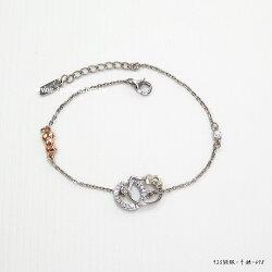 【甜蜜約定2sweet x Hello Kitty】簡約系列 銀手鍊 情人節禮物 精品禮物 HCV-498
