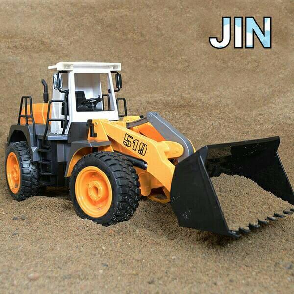遙控推土機 裝載工程車 鏟土車 大型堆土機 Double E