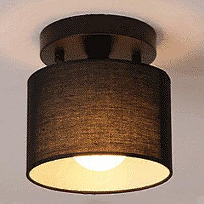 【威森家居】北歐 麻布罩吸頂燈 現貨原木工業風現代簡約復古吸頂燈吊燈壁燈大廳客廳臥室陽台燈具LED設計師 L161206