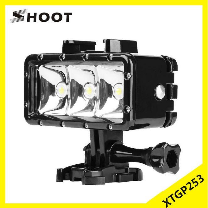 Gopro配件 goproXTGP253潛水補光燈 小蟻、山狗潛水補光燈 LED潛水燈