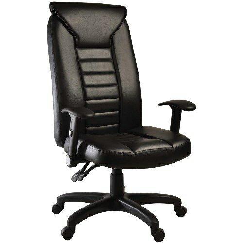【凱堡】豪大人造皮革主管椅/辦公椅/電腦椅A35026