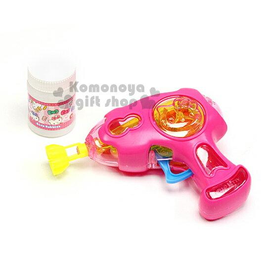 〔小禮堂嬰幼館〕Hello Kitty 泡泡槍玩具《粉.大臉》增加親子互動