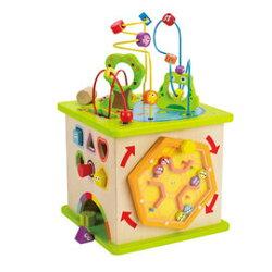 德國 Hape 愛傑卡-豪華版幼兒學習盒4079元