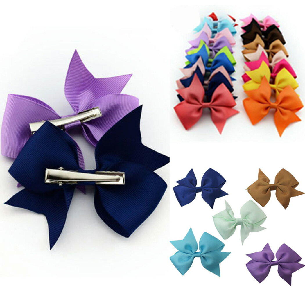20 Colors New Alligator Clips Girls Hair Clip 0