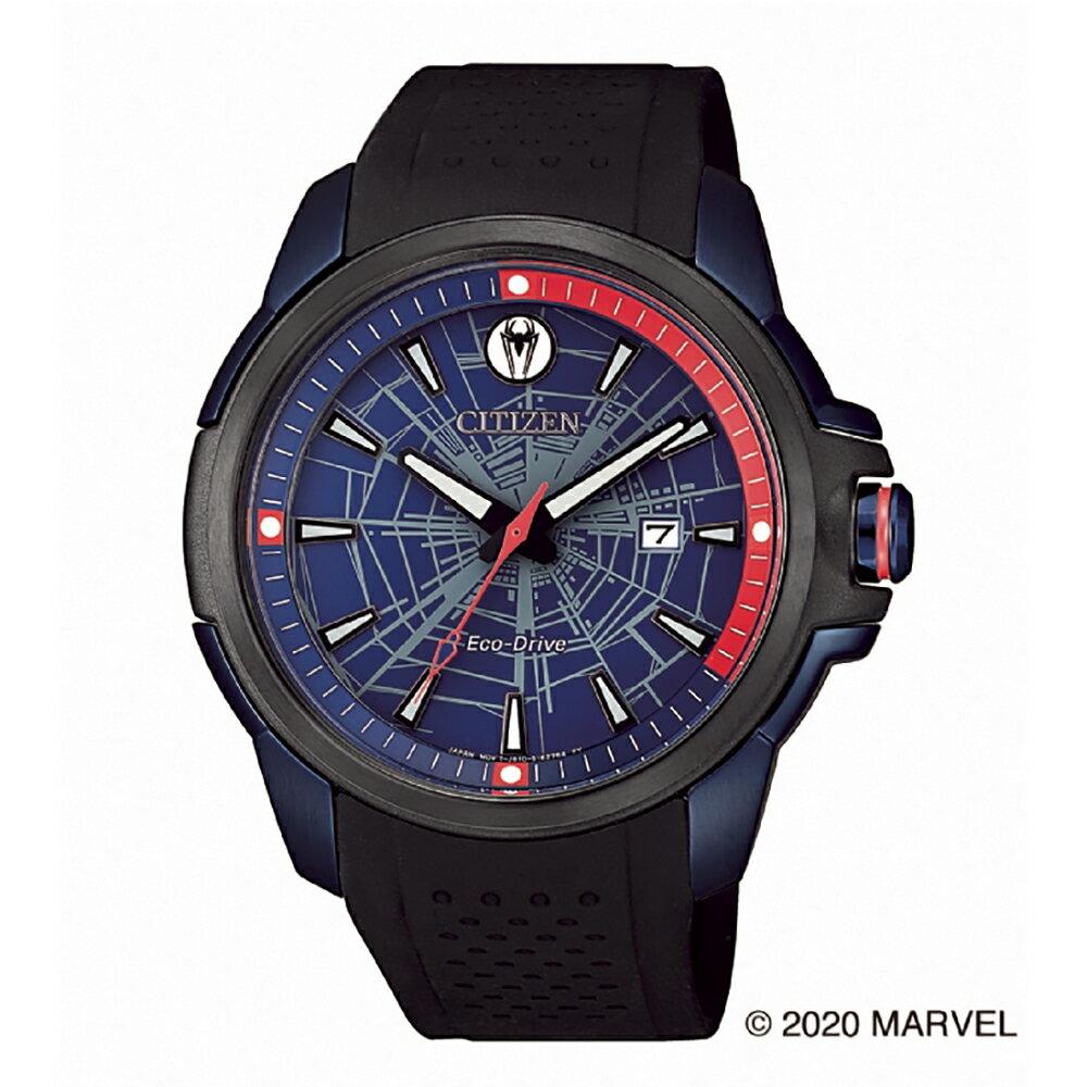 【Time Piece】CITIZEN 星辰 漫威蜘蛛俠聯名光動能限量錶(AW1156-01W)