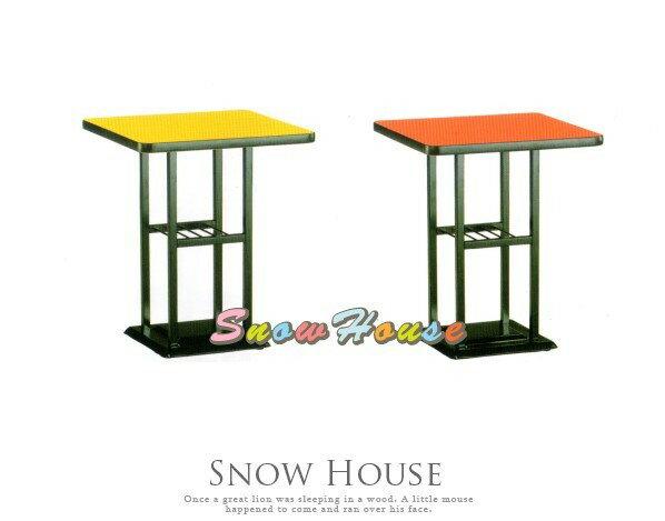 ╭☆雪之屋居家生活館☆╯AA830-01/03/05 西餐桌712B(烤黑腳/黑邊/置物桌/(寬60cm)/三色可選