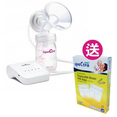 【悅兒園婦幼生活館】Spectra 貝瑞克 Q 掌上型電動吸乳器【送母乳儲存袋200ml(20枚入)x1】