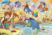 小熊維尼周邊商品推薦HPD01000-044Winnie The Pooh維尼的夢幻泡泡拼圖1000片