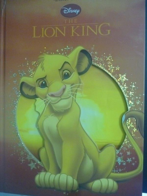 ~書寶 書T5/少年童書_XCJ~The Lion King_Parragon Books
