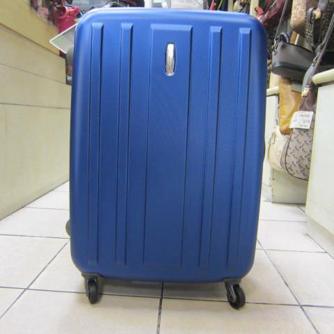 ~雪黛屋~EMINENT 20吋旅行箱MIT製品質保證PC防水防刮超輕量硬殼箱鋁合金拉桿KG28寶藍