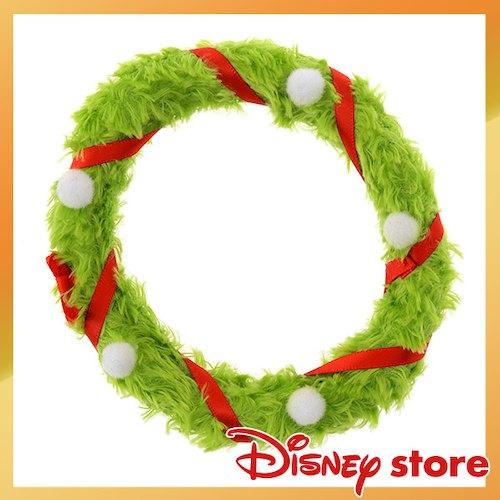 【真愛日本】17122000034專賣店ufufy娃裝飾-聖誕花圈DisneyStore日本帶回花圈裝飾品