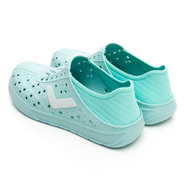 《2019新款》Shoestw【92U1SA03BL】PONY Enjoy 洞洞鞋 水鞋 海灘鞋 可踩跟 懶人拖 菱格紋 蒂芬妮綠 白V Tiffany 男女尺寸都有 3