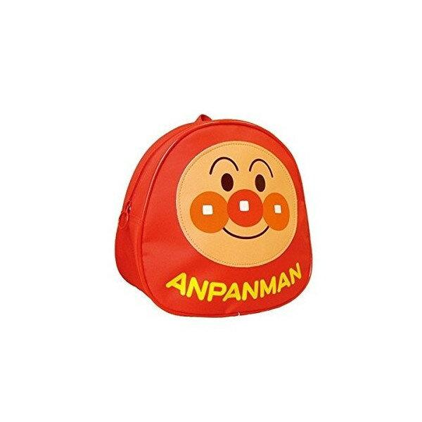 【唯愛日本】17041600005 日本製後背包-AP皮質大臉 Anpanman 麵包超人 兒童書包 後背包
