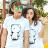 ◆快速出貨◆T恤.情侶裝.班服.MIT台灣製.獨家配對情侶裝.客製化.純棉短T.卡通素描單色小熊【YC474】可單買.艾咪E舖 0
