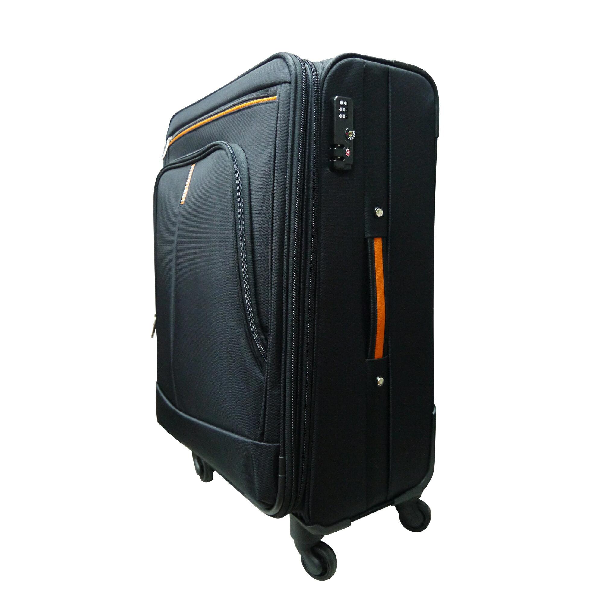 【加賀皮件】NINO1881 商務拉桿箱 布箱 行李箱 旅行箱 防潑水 靜音輪 四輪 17吋 8585