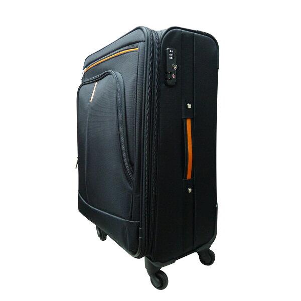 【加賀皮件】NINO1881商務拉桿箱布箱行李箱旅行箱防潑水靜音輪四輪17吋8585