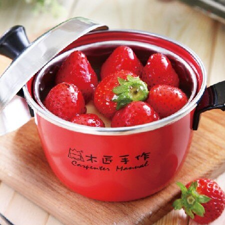 草莓電鍋(一鍋) ★舒芙蕾蛋糕★重乳酪蛋糕|聖誕甜點推薦 0
