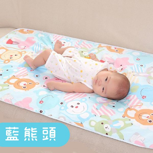 尿墊  加大加厚嬰兒尿墊 超防水隔尿墊 寶寶尿布墊(75x120cm) RA01181 好娃娃 2