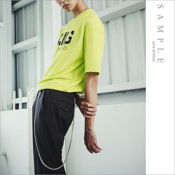 韓國製寬版短TOMG【TS20233】-SAMPLE