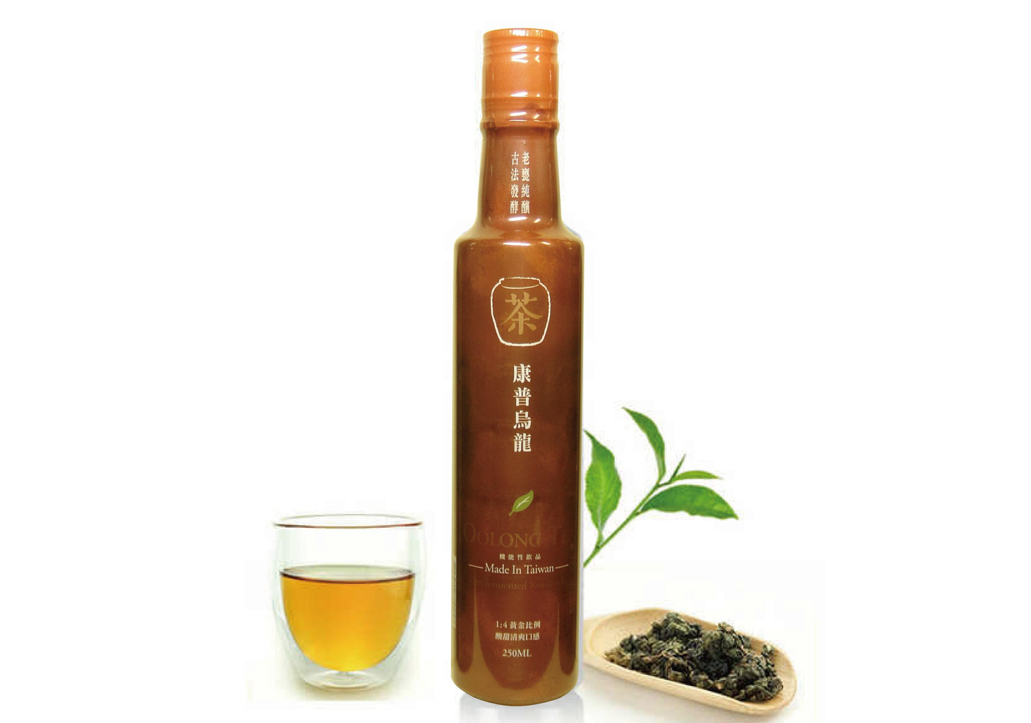 【釀美舖】康普 烏龍茶醋 (純茶甕釀) 0