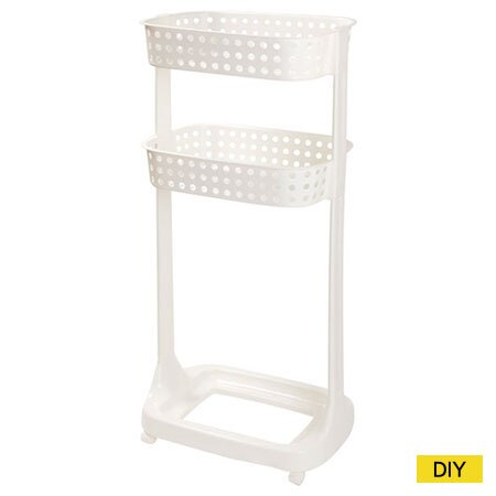 洗衣籃架 3層 LARA(不含下方洗衣籃)