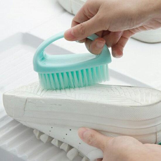 ♚MY COLOR♚ 多用途清潔刷 家用 塑料 小刷子 洗衣刷 洗鞋 軟毛刷 洗衣刷 清潔刷 炫彩 塑料【M178】