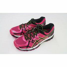 [陽光樂活] ASICS 日本亞瑟士 女 慢跑鞋 高支撐 高緩衝 超舒適 GEL-KAYANO 21 T4H7N-2590 桃紅新色