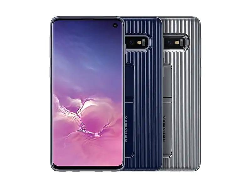 SAMSUNG Official OEM Galaxy S10e (Lite), S10, S10+ Military Rugged Cover  Case